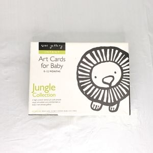 3 for $25 ❤ Wee Gallery Art Cards - Jungle